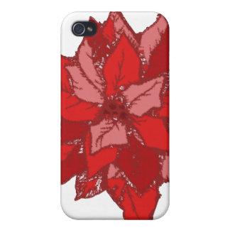 Poinsettia iPhone 4 Cover
