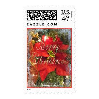 Poinsettia MC Stamp