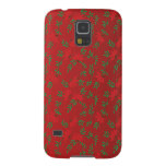 Poinsettia Pattern Cases For Galaxy S5