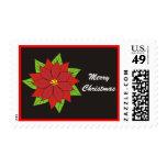 Poinsettia Postage Stamps