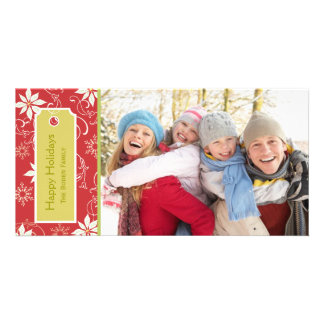 poinsettia  |  Red Holiday Photo Cards