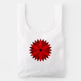 Poinsettia Reusable Bag