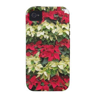 Poinsettia Tree iPhone 4/4S Cases