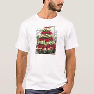 Poinsettia Tree T-Shirt