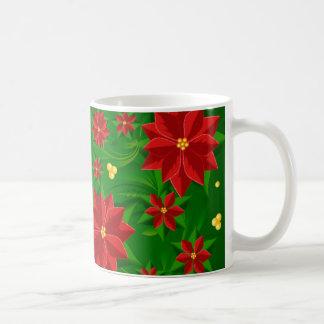 Poinsettias Coffee Mugs