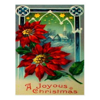 Poinsettias Postcards