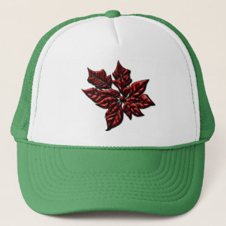 Poinsettias Trucker Hat