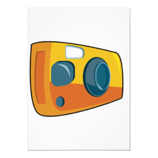 Point And Shoot Camera Invitations