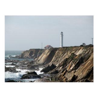 Point Arena Lighthouse, California Postcard
