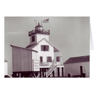 Point Au Fer Reef Lighthouse 2 Card