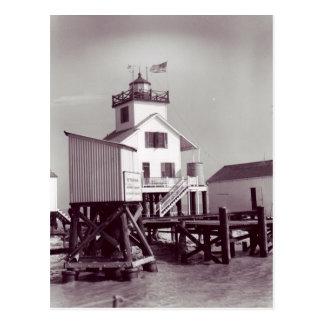 Point Au Fer Reef Lighthouse 2 Postcard