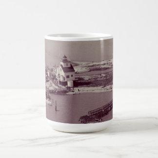 Point Au Fer Reef Lighthouse Mug