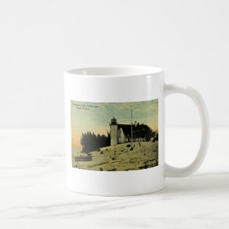 Point Betsey Lighthouse near  Frankfort Michigan Coffee Mug