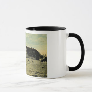 Point Betsey Lighthouse near  Frankfort Michigan Mug