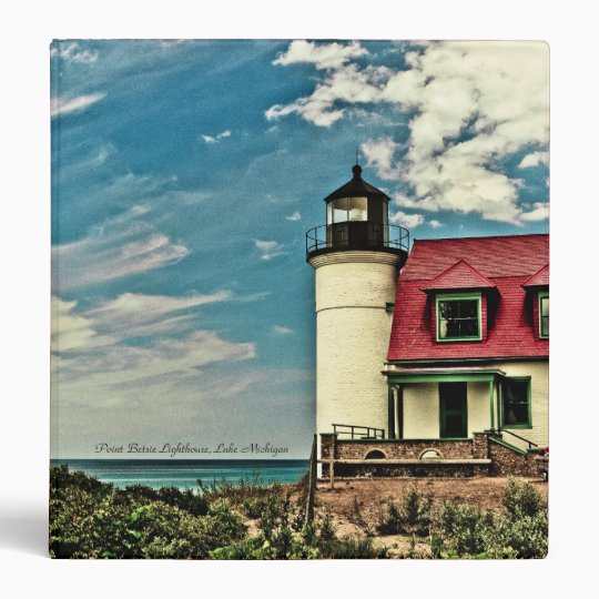 "Point Betsie Lighthouse Binder (1.5"")"