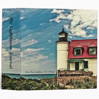 """Point Betsie Lighthouse Binder (2"""")"""