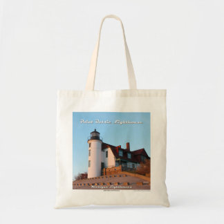Point Betsie Lighthouse - Budget Tote Bag