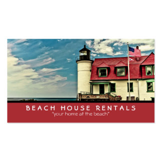 Point Betsie Lighthouse Double-Sided Standard Business Cards (Pack Of 100)