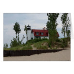 Point Betsie Lighthouse Greeting Card