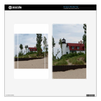 Point Betsie Lighthouse Kindle Fire Skins