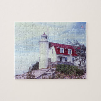Point Betsie Lighthouse Photographic Puzzle