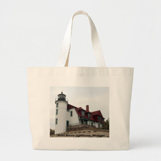 Point Betsie Lighthouse Tote Bags