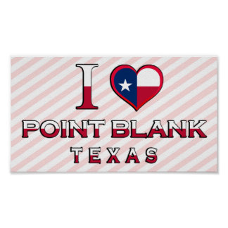 Point Blank, Texas Poster