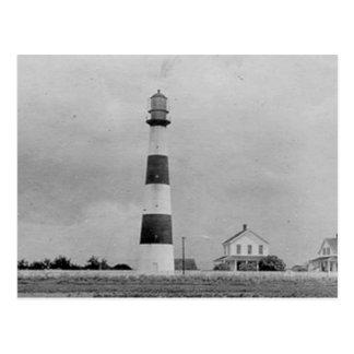 Point Bolivar Lighthouse Postcard
