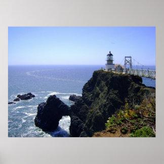 Point Bonita Historic Lighthouse Posters