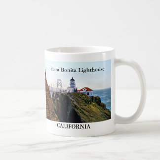 Point Bonita Lighthouse, California Mug