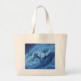 Point Break Blue Tote Bag