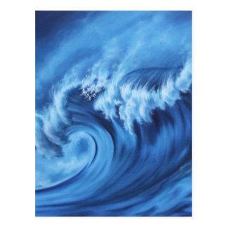 Point Break Blue Postcard