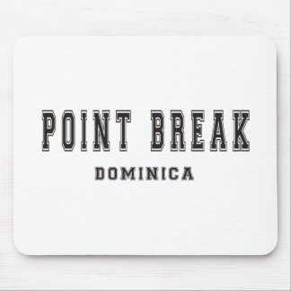 Point Break Dominica Mouse Pad