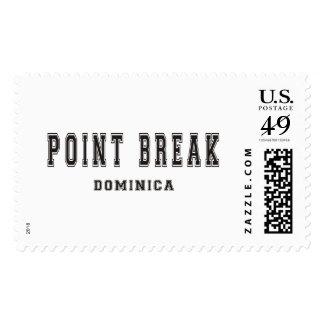 Point Break Dominica Postage