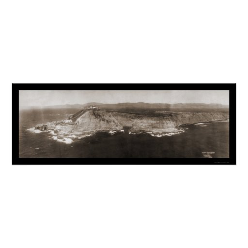 Point Conception, CA Photo 1906 Poster
