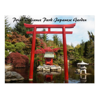 Point Defiance Park Japanese Garden Postcard