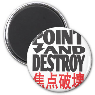 point&destroycopy.ai 2 inch round magnet