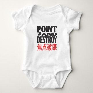 point&destroycopy.ai baby bodysuit