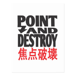 point&destroycopy.ai postcard