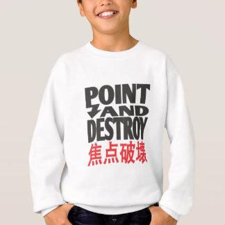 point&destroycopy.ai sweatshirt