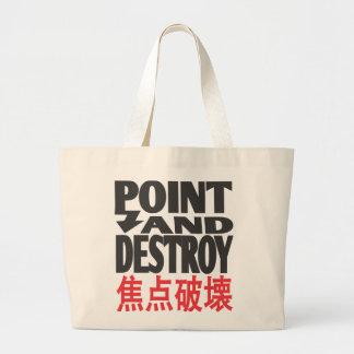 point&destroycopy.ai tote bag
