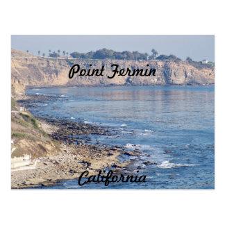 Point Fermin, California Postcard
