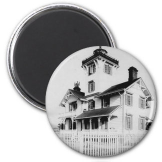 Point Fermin Lighthouse 2 Inch Round Magnet