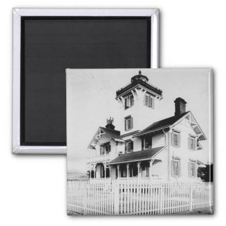 Point Fermin Lighthouse 2 Inch Square Magnet