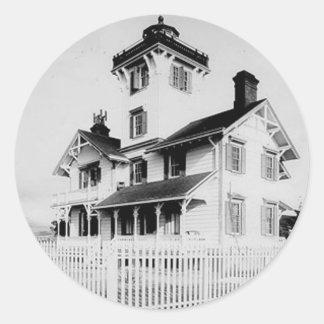 Point Fermin Lighthouse Classic Round Sticker