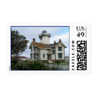 Point Fermin Lighthouse Park San Pedro CA Stamps