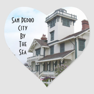 Point Fermin Lighthouse San Pedro Luggage sticker