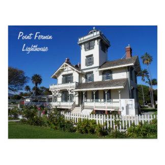 Point Fermin Lighthouse, San Pedro Postcard