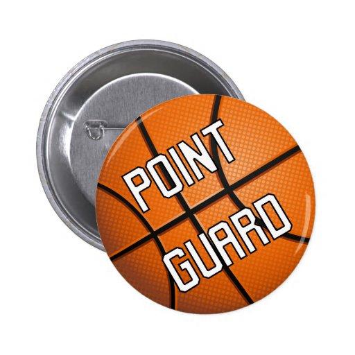 Point Guard Basketball Buttons