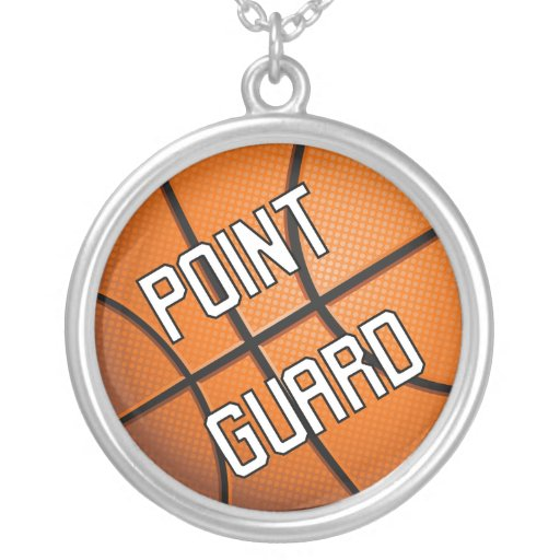 Point Guard Basketball Necklaces